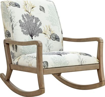 Edana Off-White Accent Chair