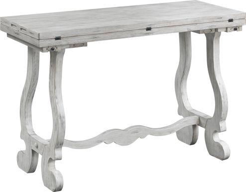 Edderton White Console Table