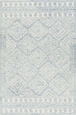 Eddith Blue 8' x 10' Rug