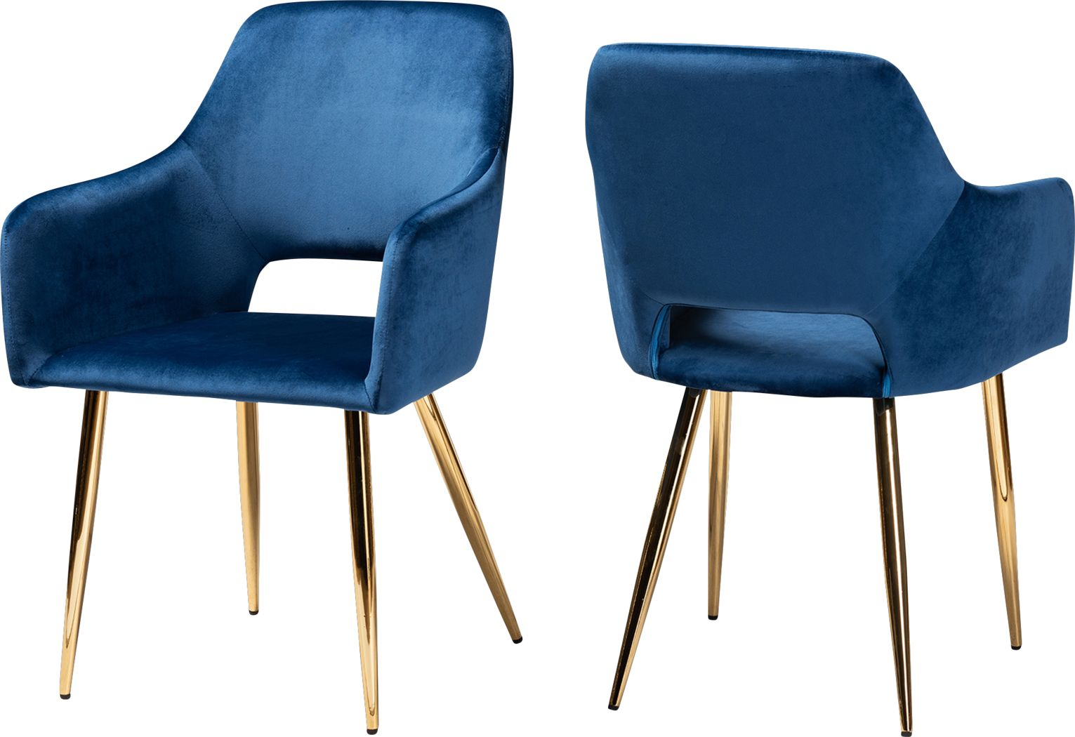 Eden Croft Blue Side Chair, Set of 2