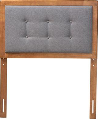 Edenboro Gray Twin Upholstered Headboard