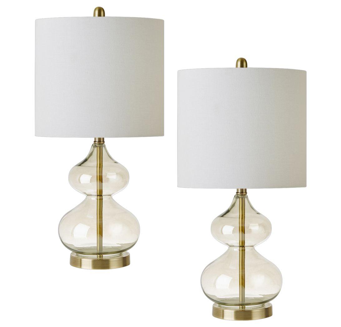 Edenvale Gold Lamp, Set of 2