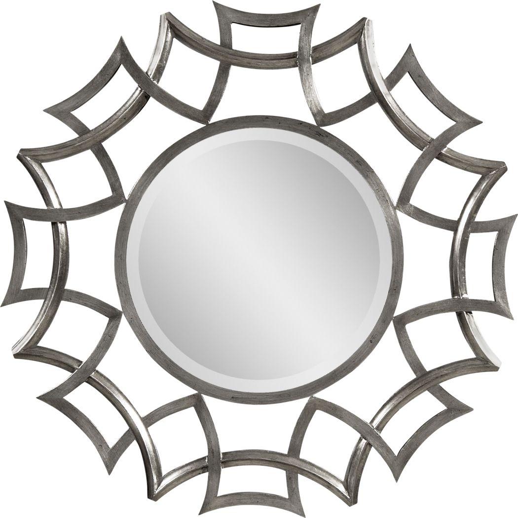 Edgebrook Gray Mirror