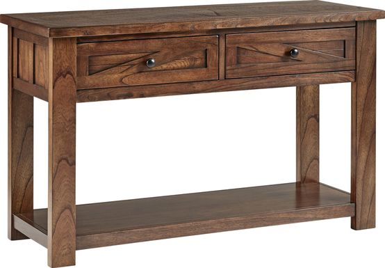 Edgehill Brown Sofa Table