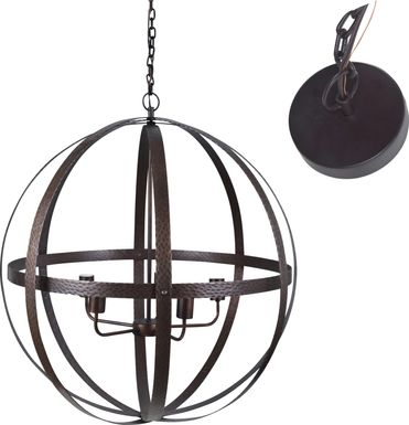 Edgelee Bronze Chandelier