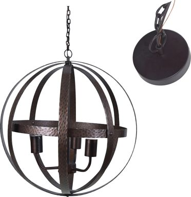 Edgelee Bronze Pendant