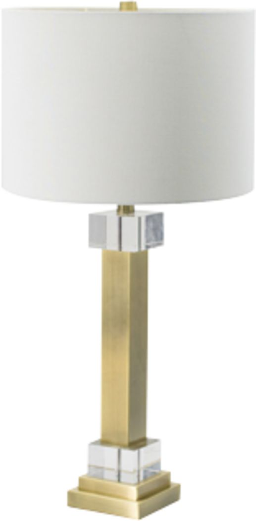 Edison Drive Brass Lamp