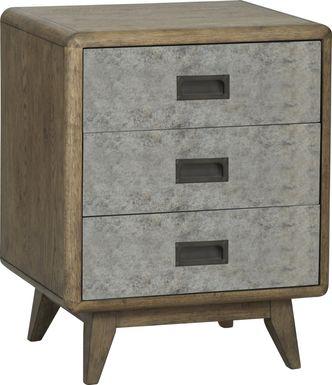 Edna Gray Accent Cabinet