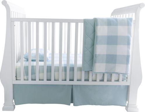 Elby Blue 3 Pc Baby Bedding Set