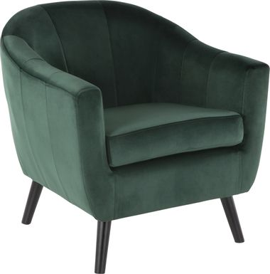 Eldert Green Accent Chair