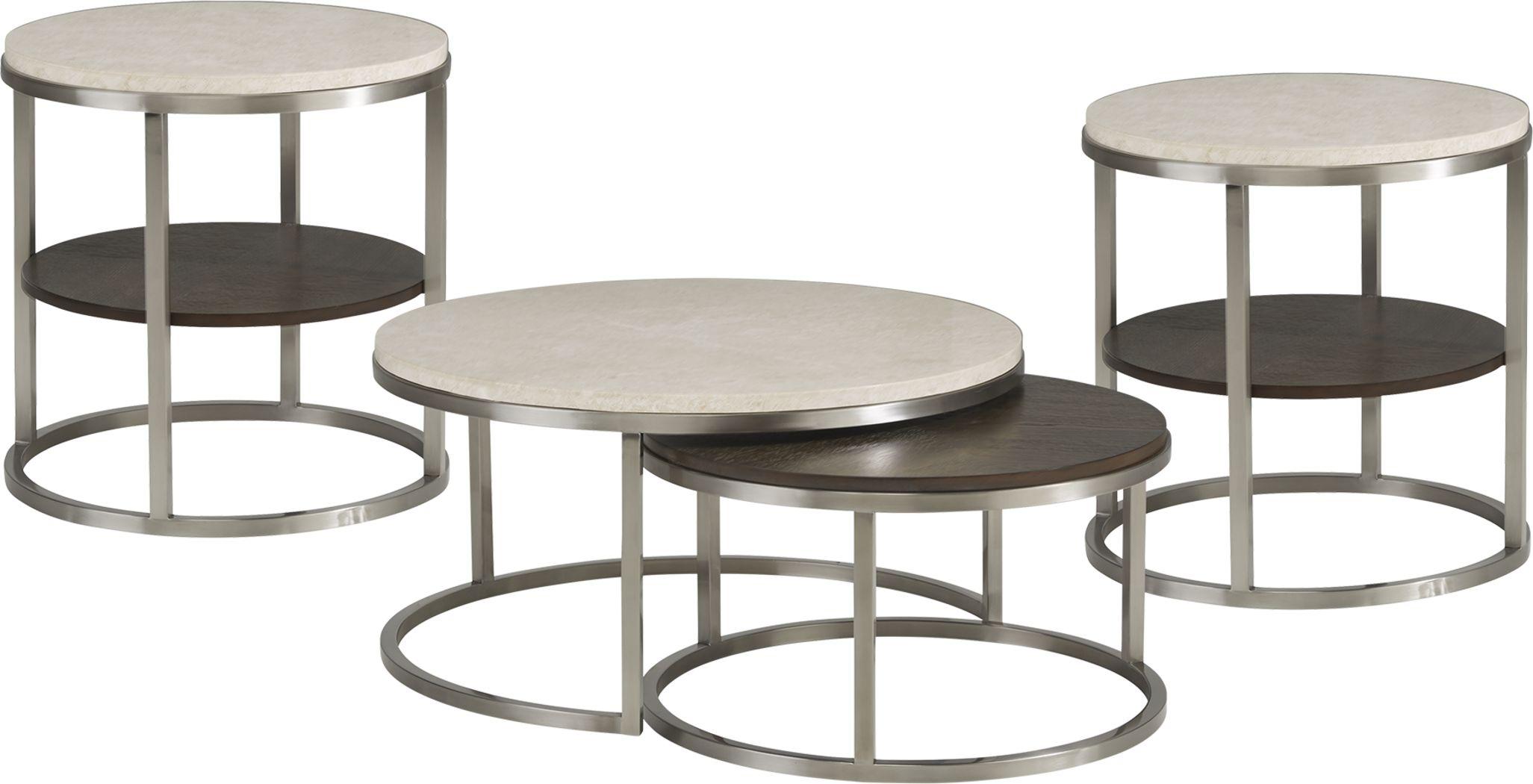 Eldren Tobacco 3 Pc Table Set