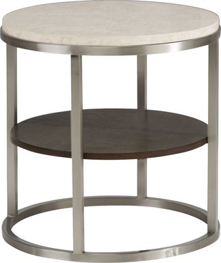 Eldren Tobacco End Table