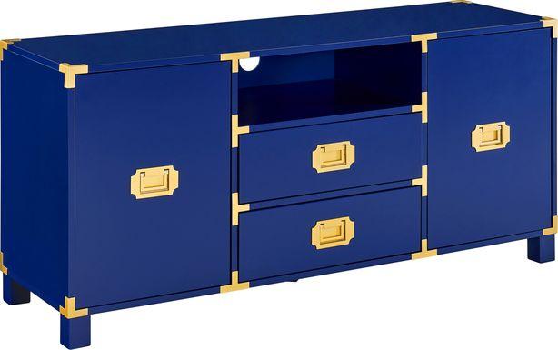 Elegans Blue 52 in. Console