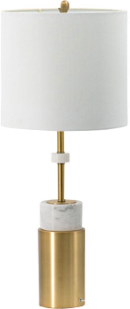Elitch Court Gold Lamp