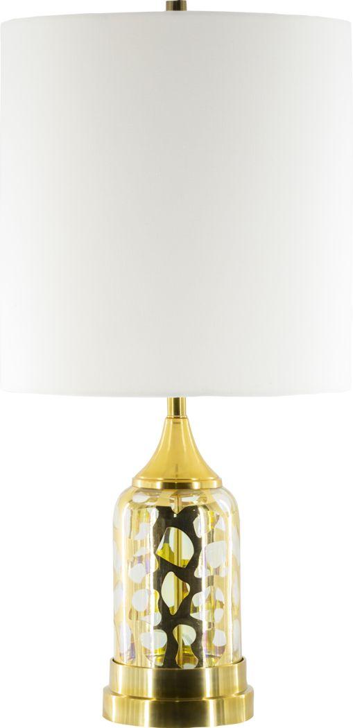 Elizabeth Lane Gold Lamp