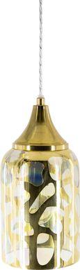 Elizabeth Lane Gold Pendant