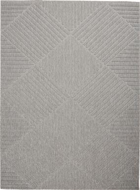 Elize Light Gray 8' x 10' Indoor/Outdoor Rug