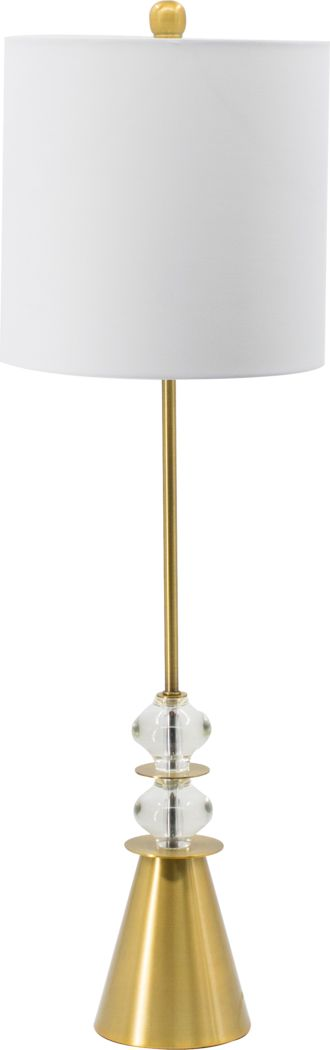 Elk Crest White Lamp