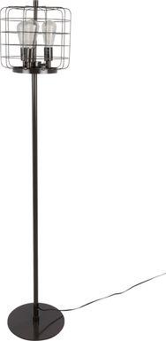 Elkwood Black Floor Lamp