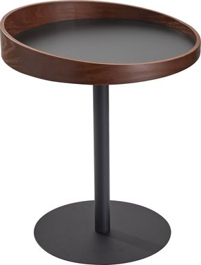 Ellerslie Walnut Accent Table