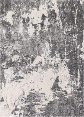 Ellias Charcoal 6' x 7'9 Rug