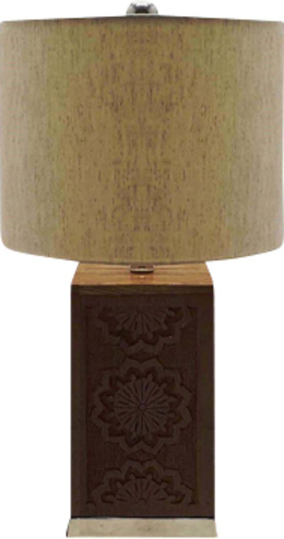 Ellipse Boulevard Beige Lamp