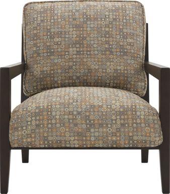 Ellora Brown Accent Chair