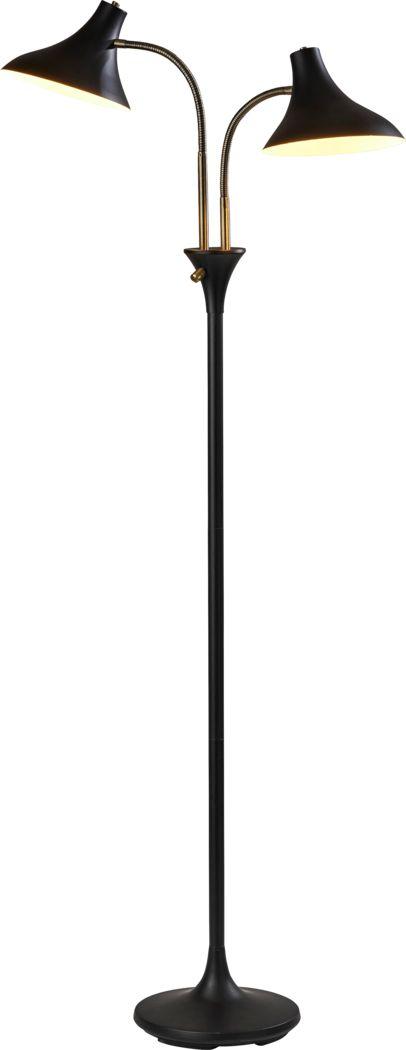 Ellsworth Avenue Black Floor Lamp