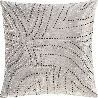 Elluna Gray Accent Pillow