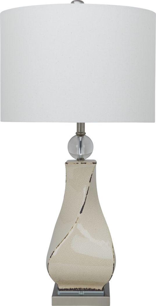 Ellura Ivory Lamp