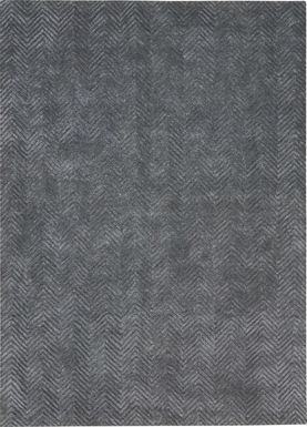 Elmena Gray 9'6 x 13' Rug