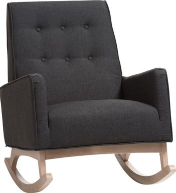 Elmorado Charcoal Accent Chair