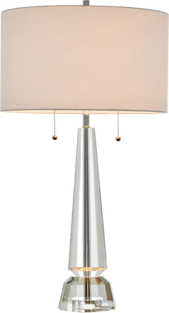 Elmorado Court Clear Lamp