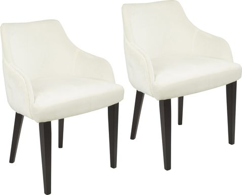 Elsetta Cream Dining Chair (Set of 2)