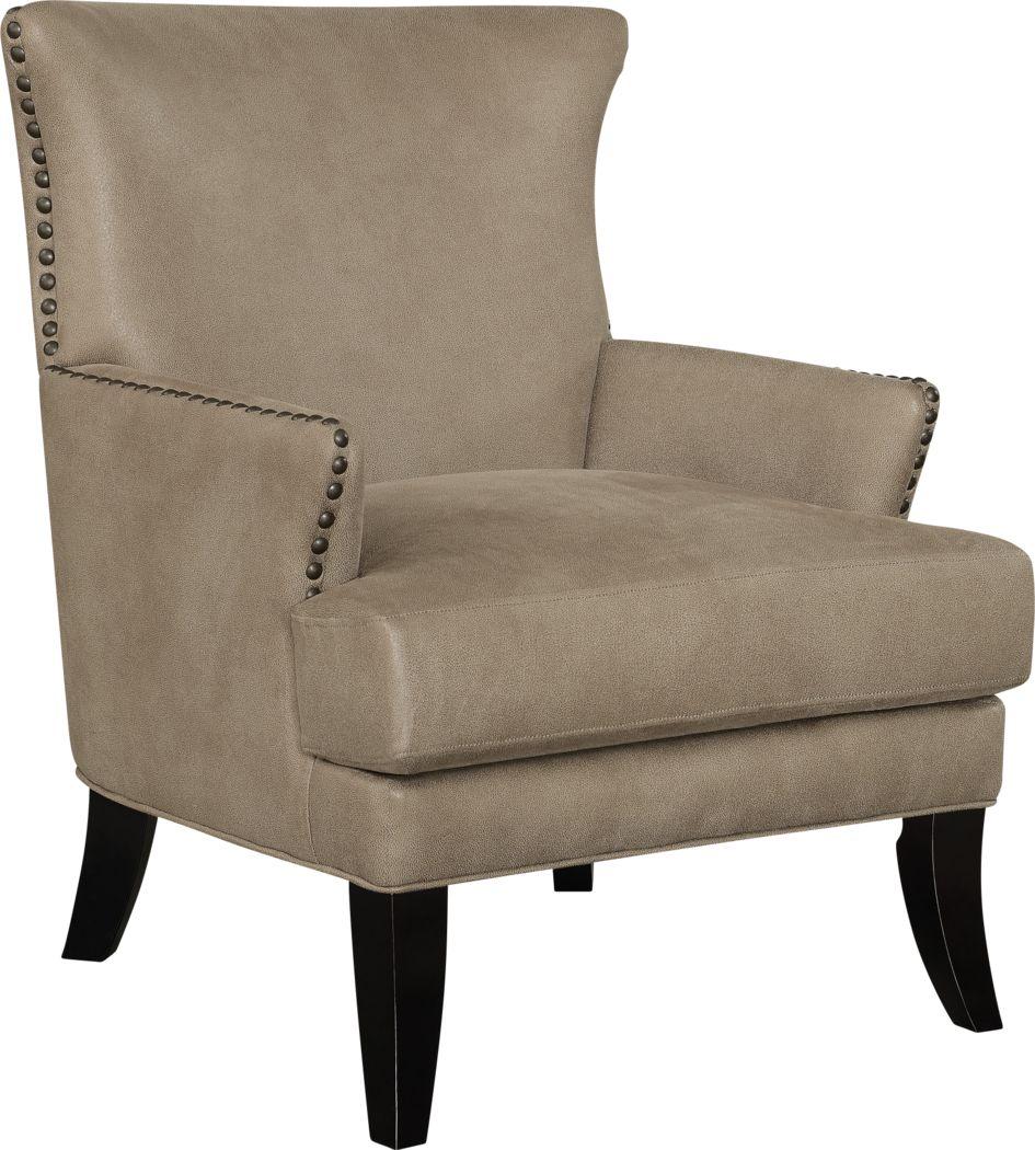 Elvedon Brown Accent Chair