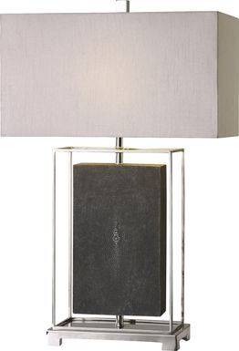 Elyse Lane Gray Lamp