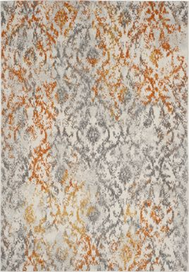 Emathla Grove Orange 4' x 6' Rug