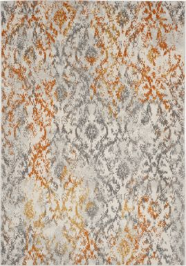 Emathla Grove Orange 8' x 10' Rug
