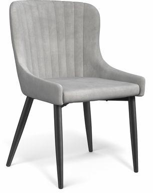 Emeric Gray Side Chair