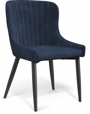 Emeric Indigo Side Chair