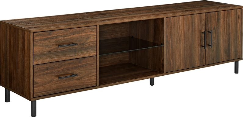 Emmalynn Walnut 70 in. Console
