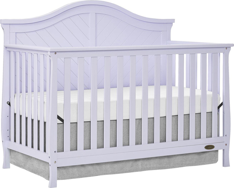 Emmiline Lilac Convertible Crib
