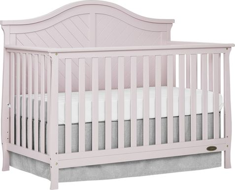 Emmiline Pink Convertible Crib