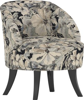 Emmorton Charcoal Accent Swivel Chair