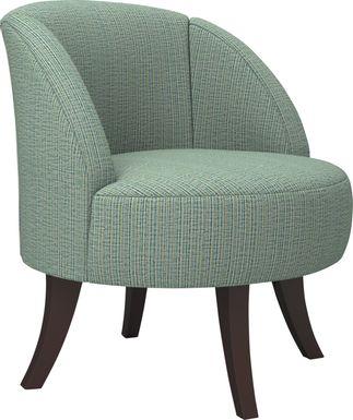 Emmorton Green Accent Swivel Chair