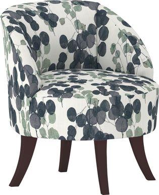 Emmorton Indigo Accent Swivel Chair