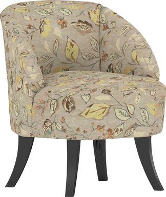 Emmorton Tan Accent Swivel Chair