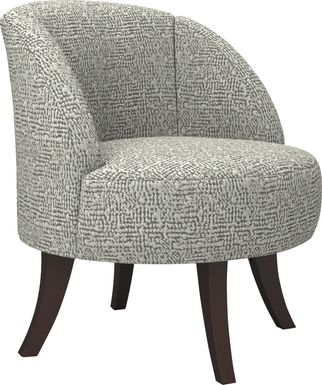 Emmorton Taupe Accent Swivel Chair