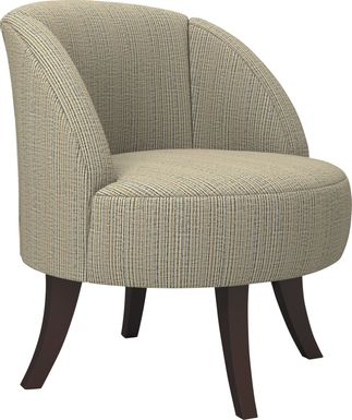 Emmorton Terracotta Accent Swivel Chair
