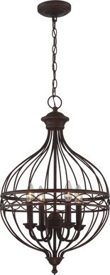 Empire Canyon Bronze Chandelier